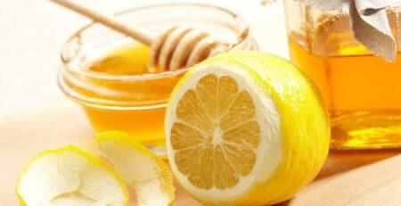 الليمون والعسل للوجه