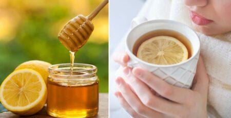 الليمون والعسل للحلق