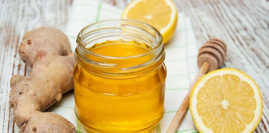 الزنجبيل والعسل للتنحيف