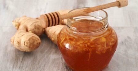 الزنجبيل والعسل على الريق